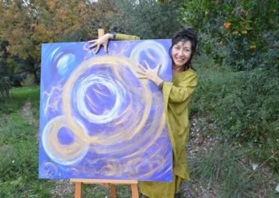 Marie-louise Cervantes Roue Cosmique de création